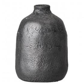 vase artisanal noir