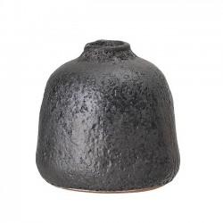 vase noir aspect brut