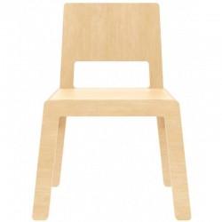 """Chaise enfant en bois naturel : """"Flex F"""" - Nuki"""
