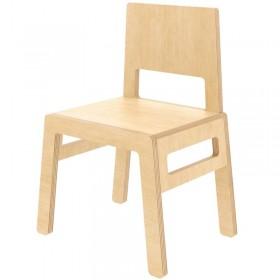 "Nuki Plywood chair ""Flex F"", natural"