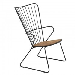 "HOUE lounge chair ""Paon"", black"
