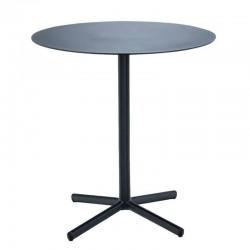 "HOUE café table ""Flor"", black Ø60cm"