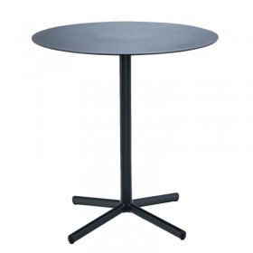 "HOUE café table ""Flor"", black Ø60cm"