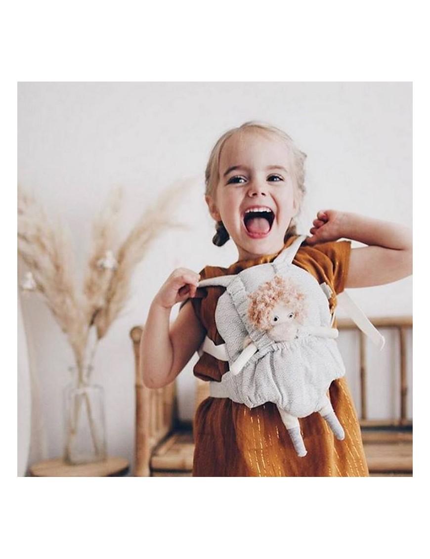 "Porte-bébé pour poupée, ""Grey Waves"" - CamCam Copenhagen"