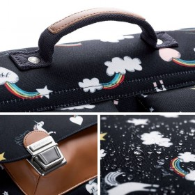 Jeune Premier - cartable it bag midi: Rainbow / Unicorn
