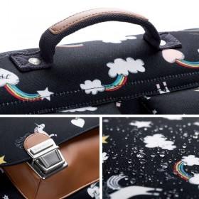 "Jeune Premier - primary school bag : it bag midi bag ""rainbow unicorn"""