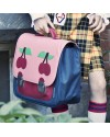 "Jeune Premier - primary school bag : it bag midi bag ""cherry pink"""