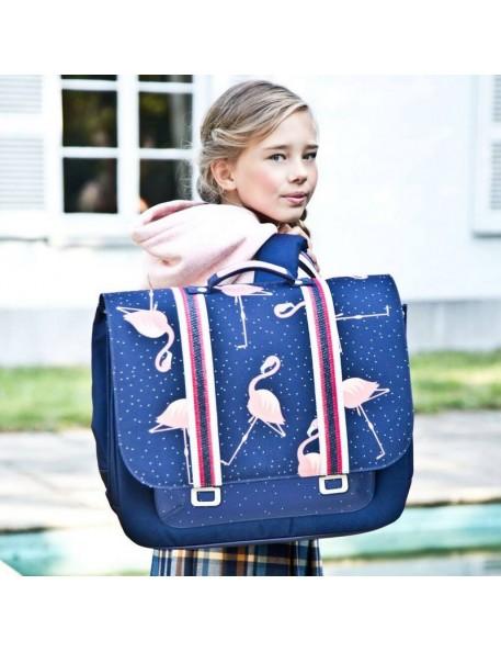 Jeune Premier - cartable it bag midi: flamingo
