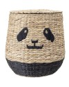Bloomingville Panda basket with lid