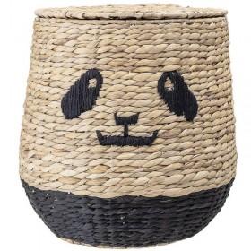 Bloomingville Panda basket with lid