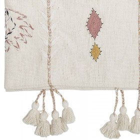 "Bloomingville cotton throw ""berber"""