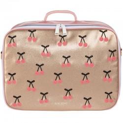 """Suitcase """"cherry pompon""""Jeune Premier"""