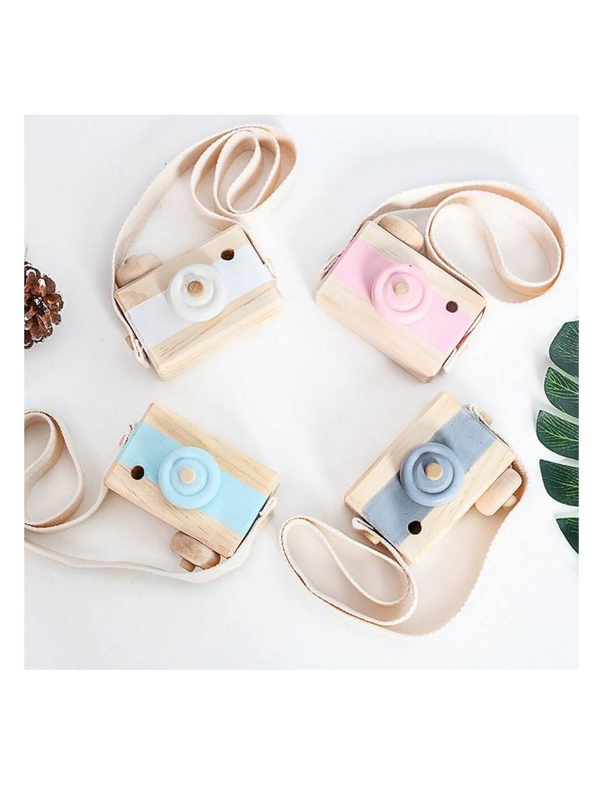 appareil photo en bois jouet