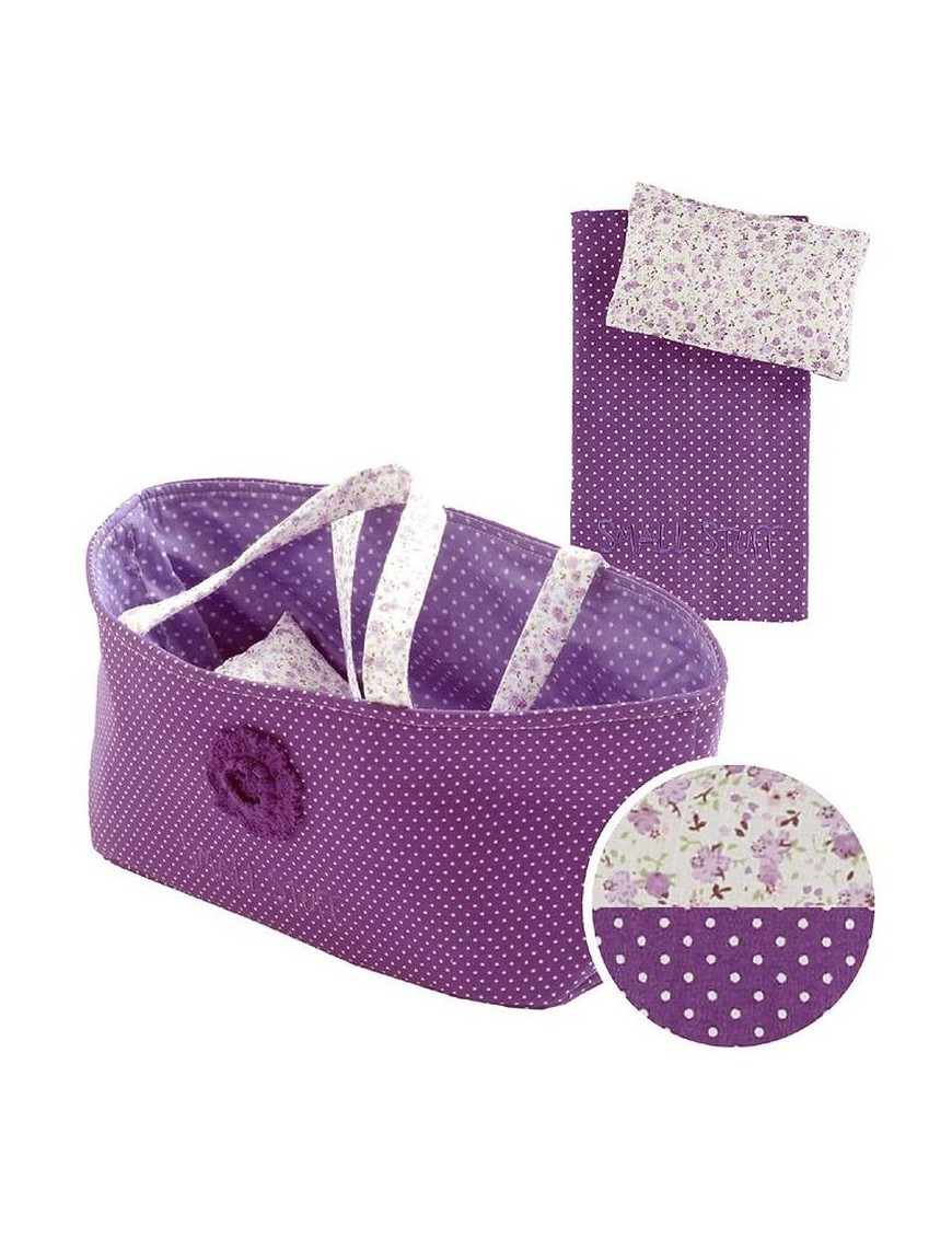 Purple doll Basket