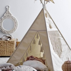 Bloomingville children' tipi, nature