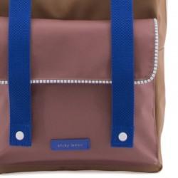 "Sticky Lemon - backpack large ""Deluxe"" : sugar brown"