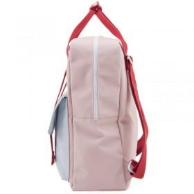 "Sticky Lemon - backpack large ""Deluxe"" : rose, bleu, rouge"