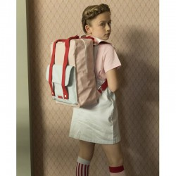 "Sticky Lemon - backpack large ""Deluxe"" : pink, blue, red"