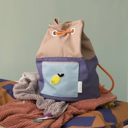Knapsack colour blocking - STICKY LEMON