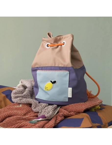 Knapsack colour blocking - STICKY LEMON