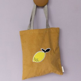 Tote bag mustard - STICKY LEMON