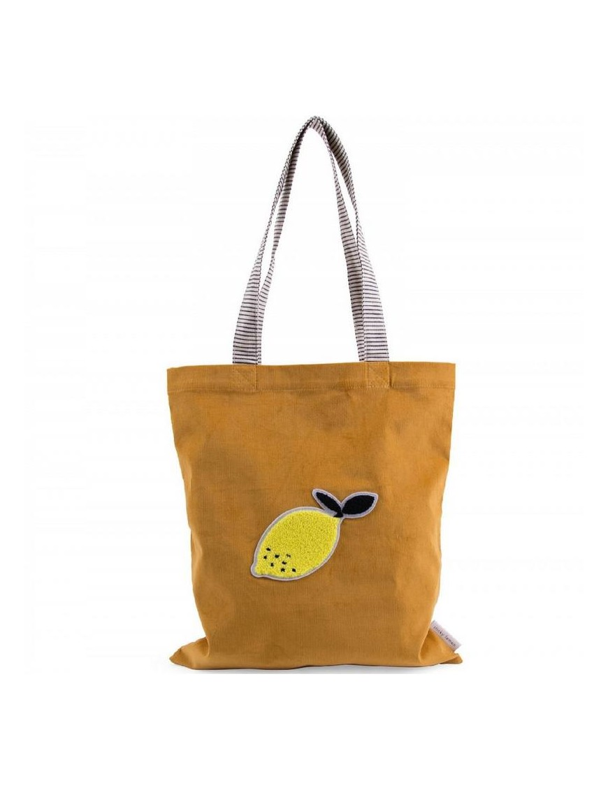 Sac cabas moutarde : lemon - STICKY LEMON