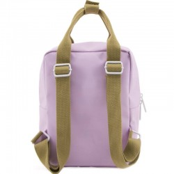 "Sac à dos maternelle ""Deluxe"" : lilac/orange - STICKY LEMON"