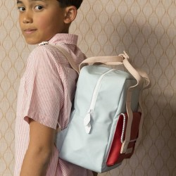 """Sticky Lemon - backpack small """"Deluxe"""" : blue/red/pink"""