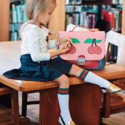 "Preschool backpack : itbag ""Cherry Pink"" - Jeune Premier"
