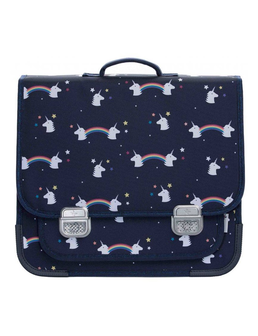"Jeune Premier - primary school bag : it bag midi bag ""rainbow unicorn"""