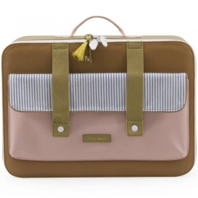 "Sticky Lemon - suitcase""Deluxe"" : sugar brown"