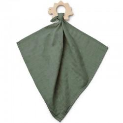 LIEWOOD - anneau de dentition + lange : dino vert