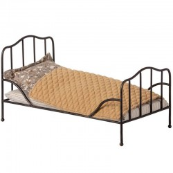Maileg vintage bed mini, anthracite