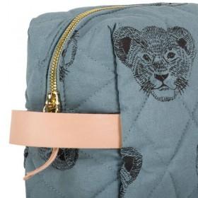 "Moumout - trousse ""Janjan duffle"" (large) : lion Simba"