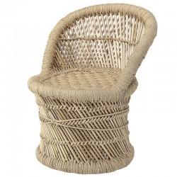 fauteuil enfant osier