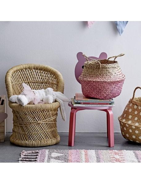 Bloomingville fauteuil enfant bambou