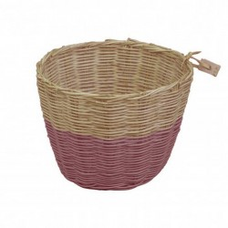 Numero 74 - Color Small Rattan Basket - flashy