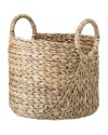 Bloomingville water hyacinth basket, nature set of 2