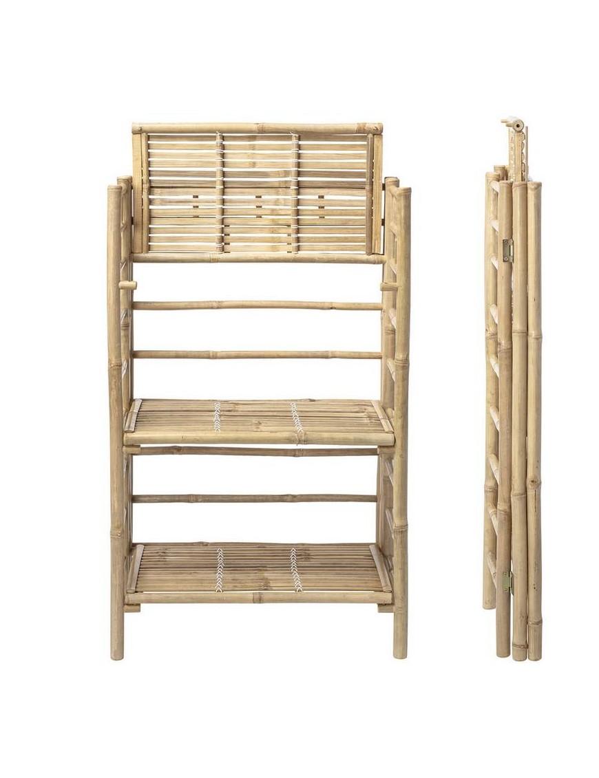 étagère en bambou