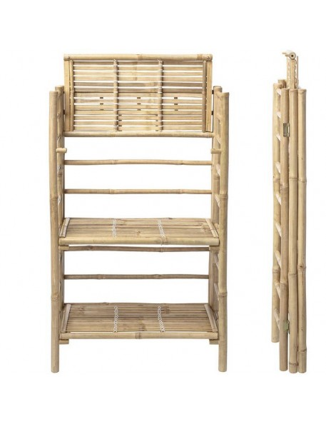Bloomingville - bamboo bookcase, nature