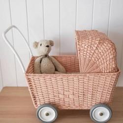 Olli Ella - landau / chariot poupon : rose