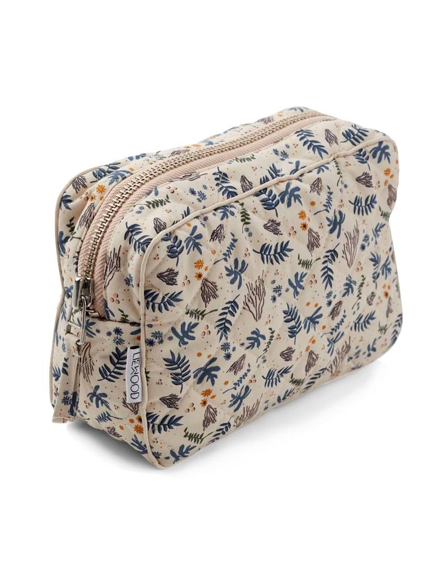 """Liewood toiletry bag """"Claudia"""": coral /floral"""
