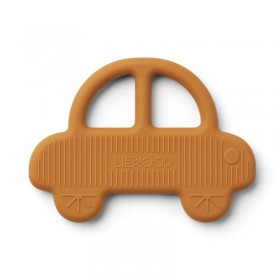 Liewood - teether car, mustard