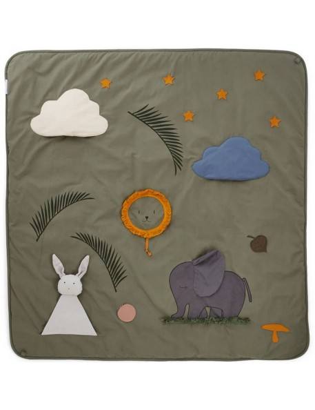"Liewood - activity blanket, faune green ""Glenn"""