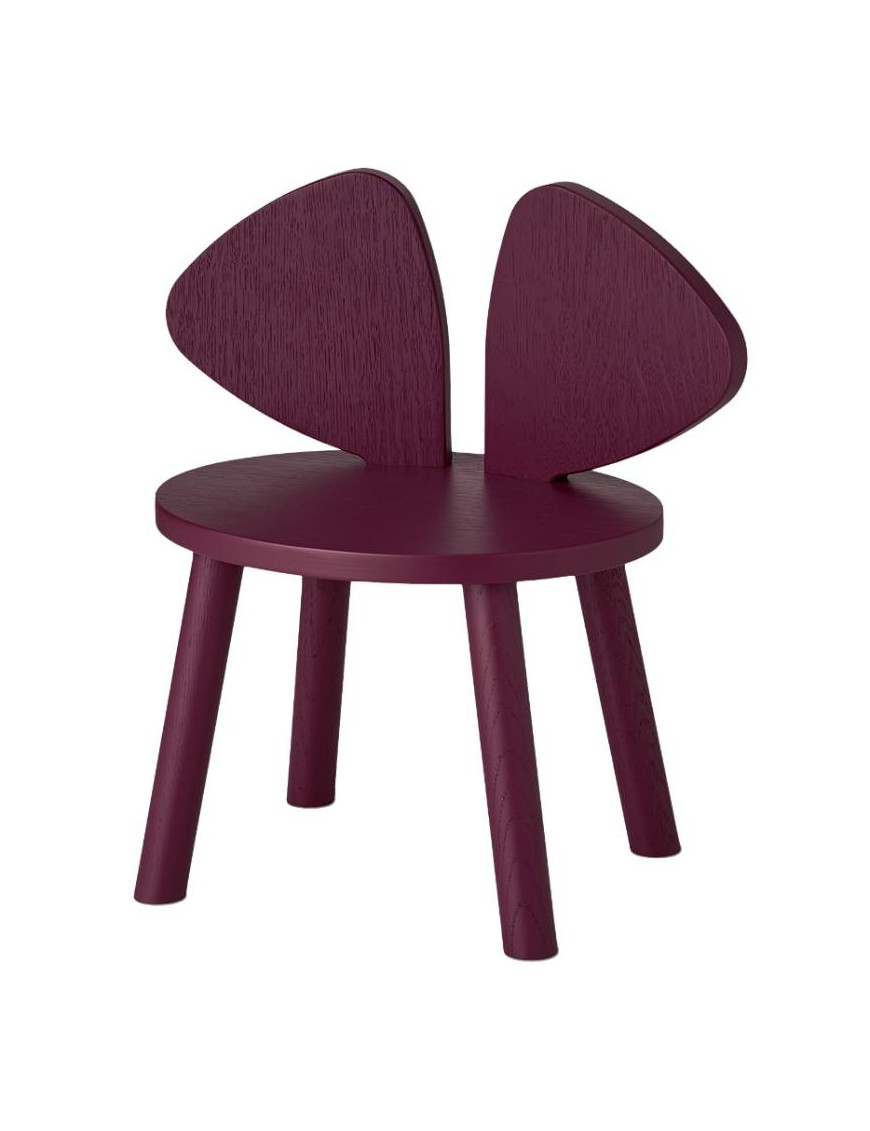 Nofred - mouse chair: burgundy