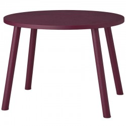 Mouse table burgundy (2-5years)