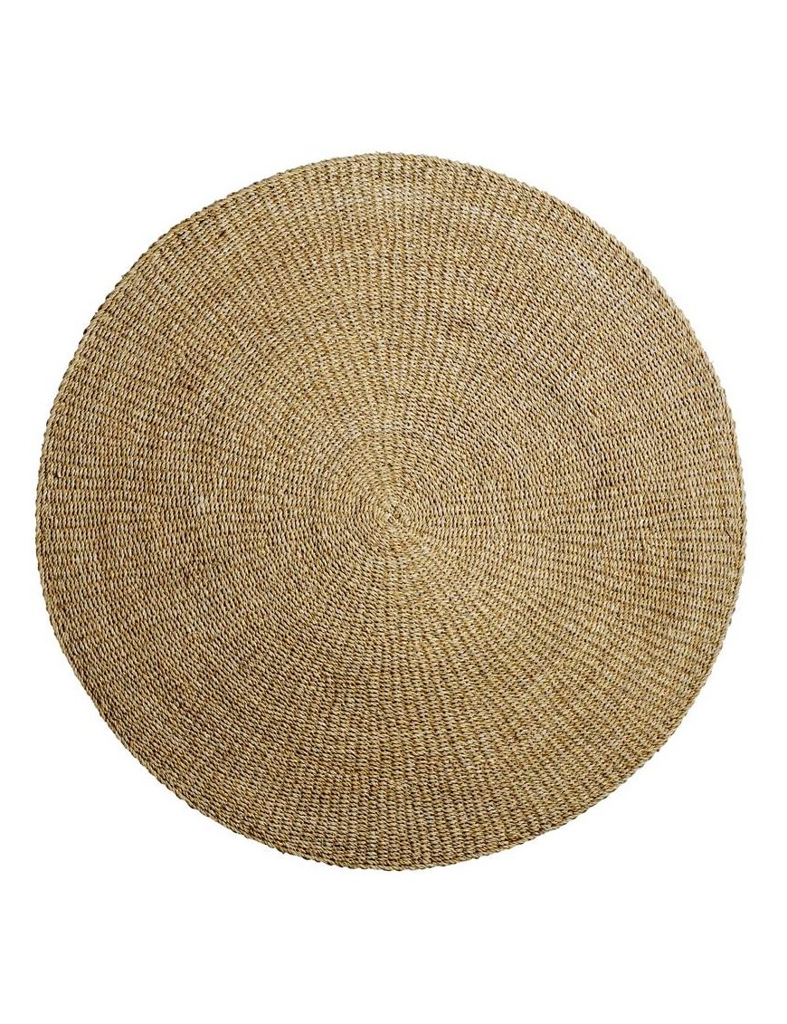 Bloomingville - natural round rug 120cm