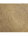 tapis rond naturel