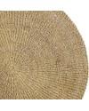 Bloomingville - tapis rond jute (120 cm)