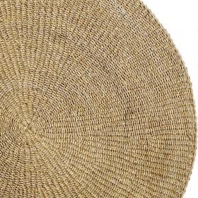 Bloomingville - natural round rug 120cm